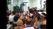 Пироговци проведоха шествие в столицата и връчиха декларация в МЗ, МС и НС