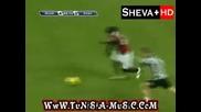 Супер гол на Роналдиньо - Милан - Сиена 4:0 17.01.2010