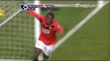 * Hq *16.01 Mанчестър Юнайтед 3:0 Бърнли Гол на Диуф