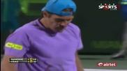 Novak Djokovic vs Tommy Haas последен гейм ( Miami 2013 - R4 )