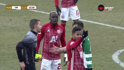 Черно море - ЦСКА 2:0 /репортаж/