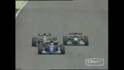 F1 - 10-те най-зрелищни катастрофи през 90-те