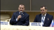 Russia: Future ISS crew talk space preparation ahead of mission