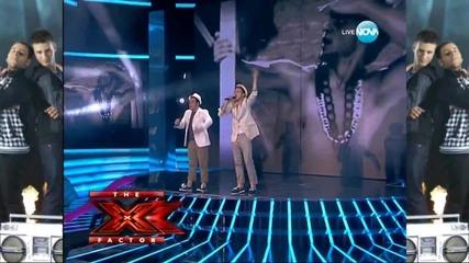 Angel & Moisei - Cherno more _ X Factor Bulgaria