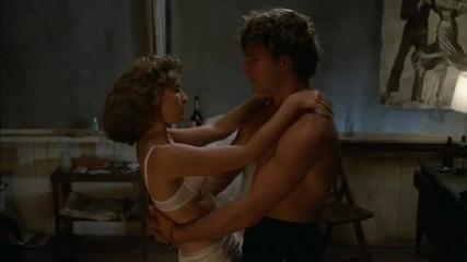 Вижте какво е станало по време на снимките на филма Мръсни танци. Кадри от кухнята на филма