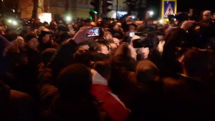 Moldova: 'Judas!' Mob attacks ex-Pres. Ghimpu after pro-EU vote