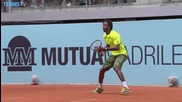Madrid 2015 - Drop Shot By Gael Monfils