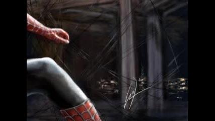 Бързо Рисуване На Spider - Man !