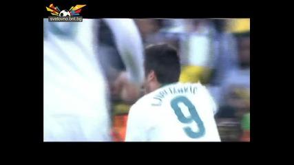 Световно първенство по футбол 2010 Юар Словения 2:2 Сащ