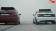 Убийствена реклама на El Clasico ! Audi A1