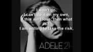 Adele - He Wont Go