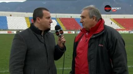 ВИДЕО: Тенчо Тенев след инфарктния успех над Славия