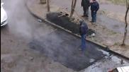 Ето как асфалтират в Беларус
