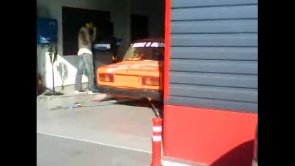 Lada на dyno test в Овердрайв