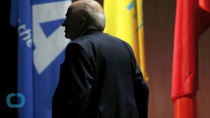 Blatter Gets Standing Ovation After Resignation