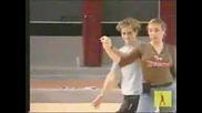 David Bisbal Y Gisela Танцуват В Академията 4 Parte