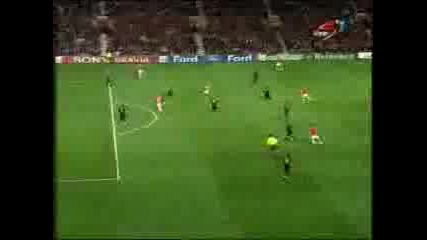 Man United Vs Roma Champion League 07 / 08