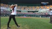 Художествена гимнастика и Бейзбол