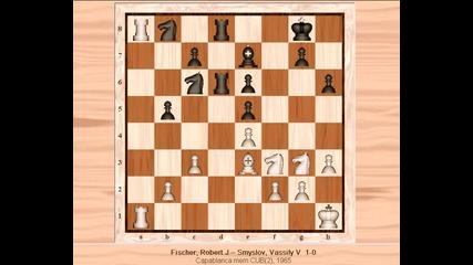Bobby Fischer - Vassily Smyslov 1 - 0