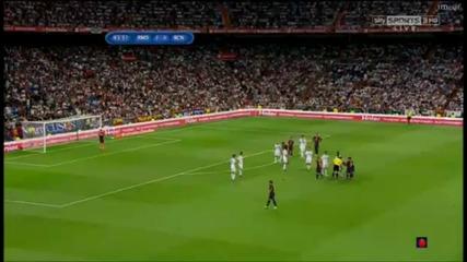 Перфектния пряк свободен удар на Меси срещу Реал Мадрид за Суперкупата на Испания