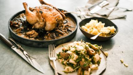 Печено пиле с паста мисо   Гай Търланд   24Kitchen Bulgaria