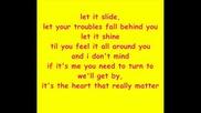 Rob Thomas - Little Wonders With (lyrics)