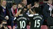 (2014) Ливърпул победи Саутхямптън (0-3) Всички Голове