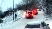 Гледайте какво се случва във Владивосток само! Дано и нас не ни изненада така тази зима!