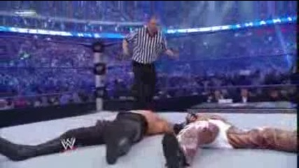Undertaker vs Shawn Michaels Wrestlemania 25