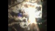 Слънце ,небе,облаци и планина Беласица 12.01.2015г. 1 част
