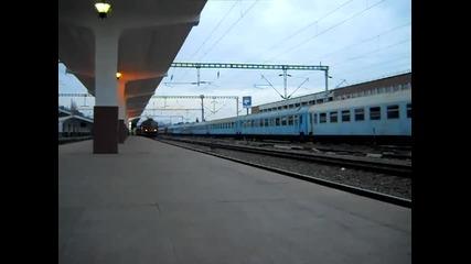 P3086 pleaca din gara Cluj-napoca cu salut pe masura.