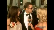 Angelina Jolie - And Brad Pitt At The 66th Golden Globe Awards Interview - 2009