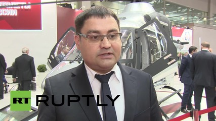 Russia: High-tech air ambulance showcases at HeliRussia expo