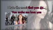 Miley Cyrus - 7 Things [karaoke/instrumental]
