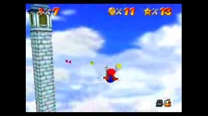 Super Mario64: Mario Wings to the Sky