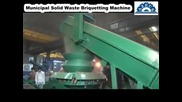 How to Make Municipal Solid Waste Briquettes