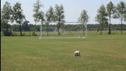 Футбол свободный удар Битва 2013 - freekickerz против Стрелять и острых ощущений