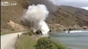 Как се гаси пожар на лодка