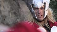 Фенско видео: Тор срещу Супермен