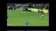 14.1.09 Манчестър Юнайтед - Уигън 1:0 Рууни Вкарва гол Във 50 секунда Коментатора Полудява