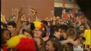 Брюксел подивя от кеф след победата на Белгия