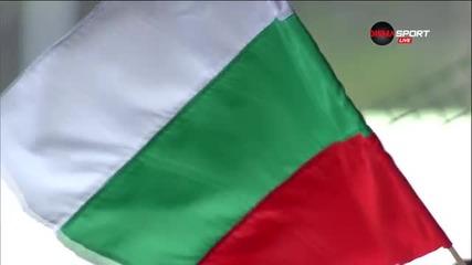Химнът в чест на националния празник преди Берое - Черно море