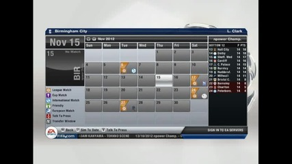 Fifa 13 Manager Mode S1 Ep4 Birmingham City-кардиф