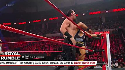 Heavy Machinery vs. The Ascension: Raw, Jan. 21, 2019