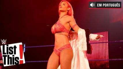 5 disfunções de roupa inesquecíveis: WWE List This!