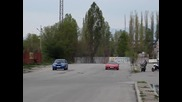 Honda Nsx срещу Subaru Impreza Wrx Sti