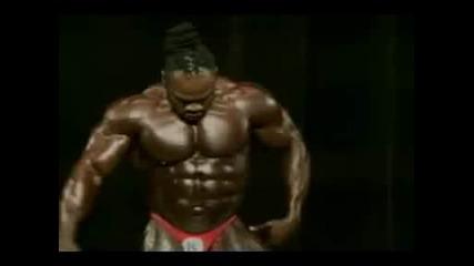 Kai Greene - 3rd Place Arnold Classic 2008