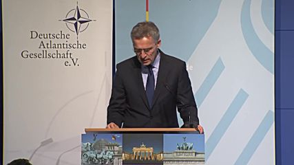 Germany: 'EU defence efforts must not harm transatlantic ties' - Stoltenberg