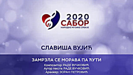 Slavisa Vujic - Zamrzla se Morava pa ćuti Sabor narodne muzike Srbije 2020.mp4
