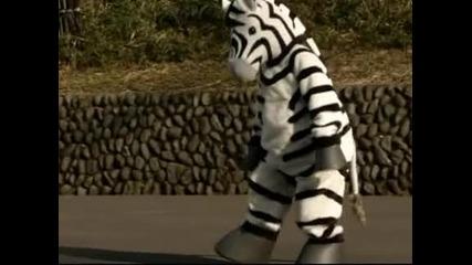Фалшиво бягство на зебра разиграха в зоопарк в Токио